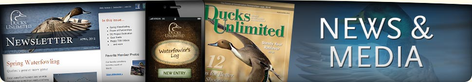 Ducks Unlimited News